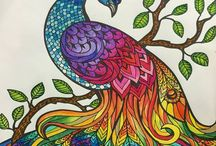 Artistic Coloring Book Art / For adults who need to stay inside the lines!
