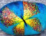 Artistic Painted Rocks / The most creative and artistic painting rocks I can find!