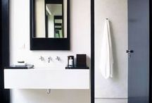 Interiors: Bathrooms / Interior design and decor ideas for the bathroom and water closet