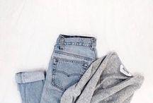 C L O T H E S / Quite simply the perfect wardrobe.