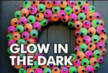 Glow in the Dark / Find awesome projects & inspiration using glow dimensional paint!