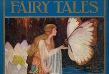 """Fairy Tale Library / """"We are such stuff as dreams are made on..."""" / by Jennifer Cameron"""