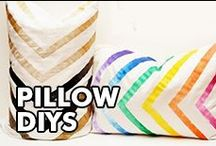 Pillow DIYs / by ILoveto Create