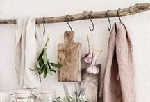 K I T C H E N / The perfect rustic, country inspired kitchens.