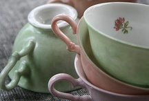 C H I N A / Vintage china, tea cups and dainty dishes..join me, won't you? For the most delightful of tea parties