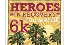 Heroes 6k - Palm Springs, CA / We're running to break the stigma of addiction and mental health issues and to celebrate those in recovery! Join us for the Heroes in Recovery 6K Run/Walk in Palm Spings, CA!
