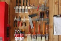 Garage Workshop / These are ideas, tips, tutorials, products I'd want in a dream woodworking, metal working etc type of workshop.  The Ultimate Man Cave or Women cave if you like getting your hands dirty!