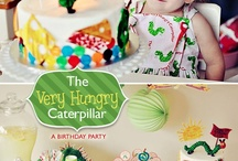 Birthday Party Ideas: The very hungry caterpillar  / Party Ideas: The very Hungry Caterpillar - Food, decor, invite, favours, games & more