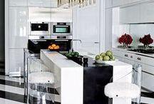 Interiors: Kitchens / beautiful and inspirational kitchens, kitchen designs, kitchen decor in interior design / by Tina Ramchandani Creative