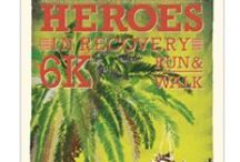 Heroes 6K - South Florida / Heroes in Recovery 6K Run/Walk Race in South Florida to promote breaking the stigma of addiction & mental health.