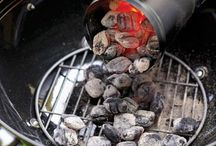 Food via Fire (aka grilling) / Too darn hot to cook inside during the summer. And then there is my dad. It could be -20 and he is grilling a steak. Now that I have a grill that doesn't try to blow up the block, I want to learn how. / by Darcie Gudger