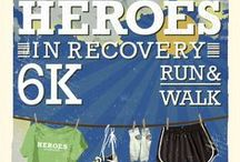 Heroes 6K - Roswell, GA / We're running to break the stigma of addiction and mental health issues and to celebrate those in recovery!