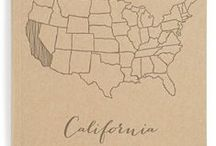 I <3 California (it's home!) / by Jennifer Stewart