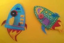 Paper Punch / Quilling things that makes me happy!