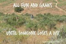 Disc Golf / A few years ago, I played DG with a guard-instructor friend of mine. It was so much fun! I love that it is harder to master than it looks. Has the same appeal to me as color guard, and may become my new obsession.
