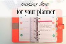 PLANNERS + ACCESSORIES / Ideas and inspiration on how to get the most out of your planners:)