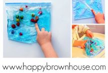 Fine Motor Skills Activities / Activities to help develop and strengthen fine motor skills in little hands / by Sara @ Happy Brown House