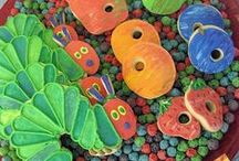 Very Hungry Caterpillar / Fun ideas for my favorite children's book, The Very Hungry Caterpillar by Eric Carle. Creative crafts, snacks, and ideas.