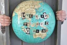 On the Map / Maps & globes: map decor, globe decor, and more