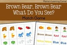 Brown Bear, Brown Bear / Activities, snacks, and crafts to go with the book Brown Bear, Brown Bear by Eric Carle.