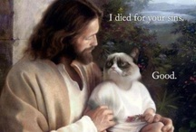 Blasphemy. / This board isn't meant to offend anyone, just humorous religion jokes found on the interwebs.