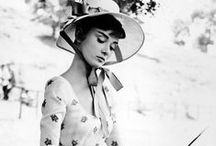 Audrey and her fabulous hats