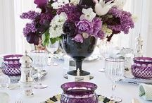 Wedding Table & Place Settings / Table & Place Settings at Wedding Receptions