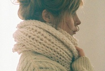 winter wear / summer is coming to an end, it´s time to stock up on the scarves and the boots / by Luisa Chen