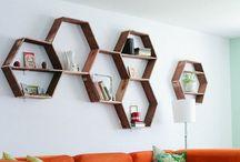 Crafty- Glue + wood + ceramics