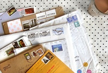 snail mail / because I am old fashioned. / by Luisa Chen
