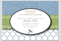 Shabby Chic Bird Baby Shower