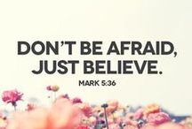 Faith. / I am finding what I truly believe in.