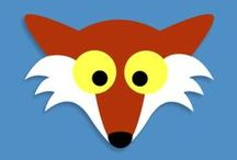 Fox Unit (MFW K) / Learning activities and Ideas for Fox unit in My Father's World Kindergarten (MFW K). Fox lapbooks, activities, crafts, snacks, and ideas for kids.