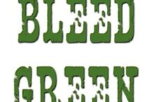 I bleed green / by Sandra Gaylord