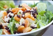 Clean Eating Salads / by Sarah Upchurch