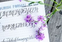 Crafts: Calligraphy, stationary, pens and paper, planners