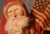 ~Arnett's Santas~ / ~These are some of my favorite images of Santas created by Stacee Droit of Arnett's Country Store.~