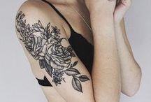 tattoos - flowers