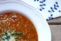 Jídlo - polévky // Food - soup