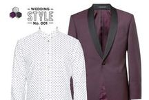 Wedding Style Boards / Style Boards created for Well-Groomed, THE wedding style blog for grooms.