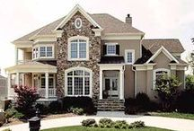 Decorating / Ideas for building my dream home and decorating the home I have.