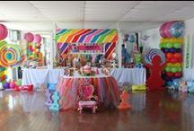 Parties  / B-day parties, anniversary parties, baby or wedding showers, weddings, etc.