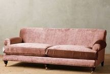 F U R N I S H I N G S / furniture, carpeting, lighting, accessories etc., for a house or room