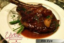 From Our Menu - Entrees