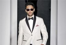 From Runway to Wedding Day / Groom style inspiration straight from fashion week