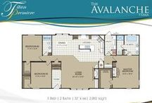 Dream Floor Plans / Check out some of Titan Factory Direct's award winning manufactured home floor plans.