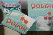 """A Little Extra Dough"" Gift Ideas / Printables and Gift Ideas for the saying, ""Everyone needs a little extra dough for..."" Great ways to give gift cards and cash for the holidays, Christmas, and other special occasions. / by Gift Card Girlfriend at GiftCards.com"