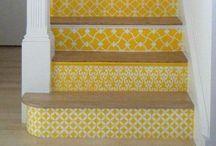 Stairway inspiration / Trappenhuis idee ideeen ideetjes hal gang