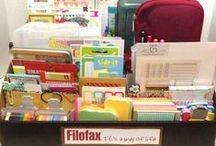 Filofax: Storage Ideas