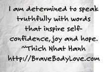 Brave Body Love Summit / Bringing Women from All Over the Globe Together in an Epic Online Event to End Body Image Issues and Awaken Our Collective Female Power With Michelle Hess + 32 Experts February 14-28, 2015  http://BraveBodyLove.com   / by Body Love Experiment by BraveGirl Coaching